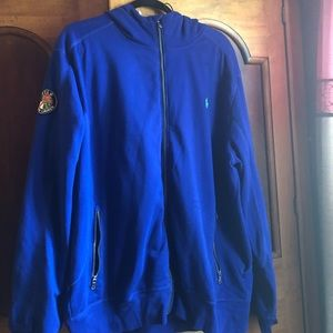 Blue Ralph Lauren Polo Jacket